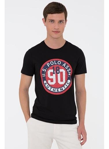 U.S. Polo Assn. G081Sz011.000.1270822.Vr046 T-Shirt Siyah